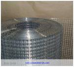 low price 1/2 galvanized square wire mesh after welding for construction