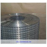 "low price 1/2"" galvanized square wire mesh after welding for construction"