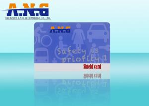 China Facebook id card shield / HF Rfid Smart Card credit card size on sale