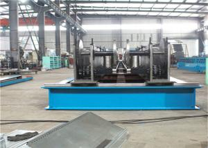 China Full Automatic Cable Tray Roll Forming Machine , Auto Decoiler metal forming machine on sale