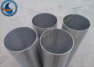 China Filtration System Wedge Wire Mesh High Strength 400mmX1000mmX100 Micron on sale