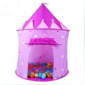 China purple Kids play tent on sale