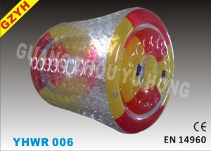 China 0.9mm Colorful PVC Custom Inflatable Water Roller / Pool Walker Roller Ball YHWR 006 on sale