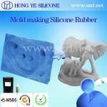 RTV-2 Liquid silicone rubber for mold making ( soaps, artificial stone, concrete, resin,plaster mold making)