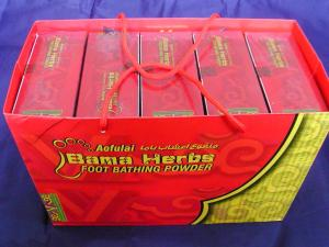 China Body Pain Treatment Bama Herbs Natural Traditional Foot Bath Powder on sale
