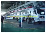 42m boom Concrete Pump Vehicle with HOWO Chassis and Pipe-valve