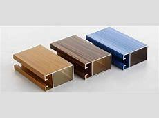 China Supply high quality aluminium profile for kitchen cabinets wardrobes and shower enclosure on sale