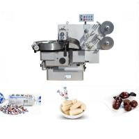 China 3Ph 380V Chocolate Bar Wrapping Machine , Double Twist Pillow Packing Machine on sale