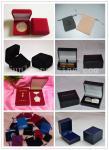Las bolsas del terciopelo para los pernos keychains/de las insignias acuñan artes de la medalla de las mancuernas jewerly/de los relojes de los emblemas