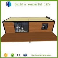 China low cost prefabricated used metal luxury steel structure container house living quarter for sale on sale