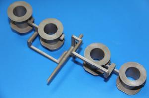 China 4 Cavity Plastic Bobbin for Solenoid Coil winding on sale