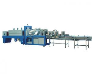 China Two Rollers Film Shrinking Packaging Machine on sale