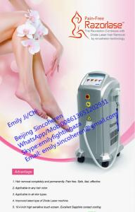 China Alma lasers 808nm hair removal laser diode light sheer laser hair removal on sale