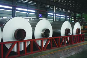China Mill Finish Heavy Duty Aluminium Foil Aluminium Coil A/C 1100- O on sale