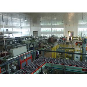 China Ring - Pull Cans Dairy Milk Processing Machinery / Equipment Low Power Consumption on sale