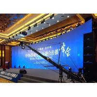 Die Casting Aluminium Curved Led Screen Billboard Stage Indoor 3.91mm