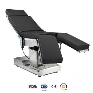 China Medical Stainless Steel Electric Operating Table With Gas Spring Control Leg Plate on sale