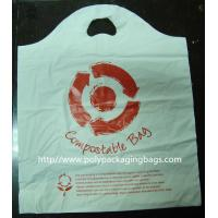 China Custom White Degradable Plastic Bags Die Cut For Car Tidy / Rubbish on sale