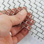 150 Micron Stainless Steel Wire Screen Mesh , Wire Mesh Filter Screen Muti - Layers Sintered