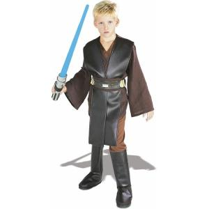 China Star Wars Teen Boy Halloween Costumes Brown Cosplay Children Suit on sale