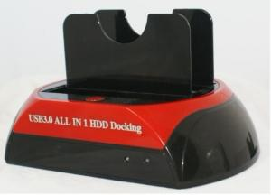 """Quality USB3.0 to 2.5 3.5""""IDE&SATA double slots multi-function HDD docking station for sale"""