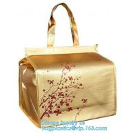 Newest promotional pp laminated non woven thermal lunch bags, Cheap Price Tote Shopping Non Woven Bag, bagease, package