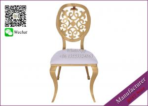 China Cream Color Leather Wedding Chairs For Sale With Good Quality (YS-83) on sale