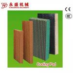 Industry/ Greenhouse/Poutlry Farm Cooling  Pad System with  Black Single Coated Color 7090/5090
