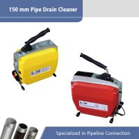 China 150 MM Sectional Electric Drain Cleaner / Electric Pipe Cleaning Machine on sale