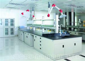 China Modern School Laboratory Furniture With Shelves / DTC 105 Degree Hinge on sale