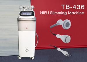 China Vertival Multifunction HIFU Body Shaping Weight Loss Equipment With 4 Handles on sale