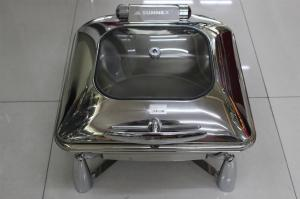 China Contemporary Stainless Steel Cookwares  / Chafing Dish Buffet Set Rectangular Shape on sale