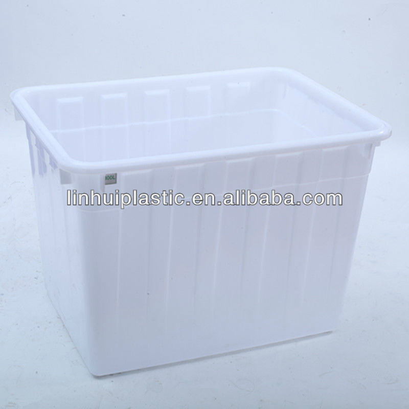 Hdpe Large Stackable Food Storage Box Container For Sale