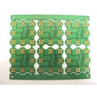 Immersion Gold Single Sided PCB Board Green Solder Mask 1.0Mm Thickness