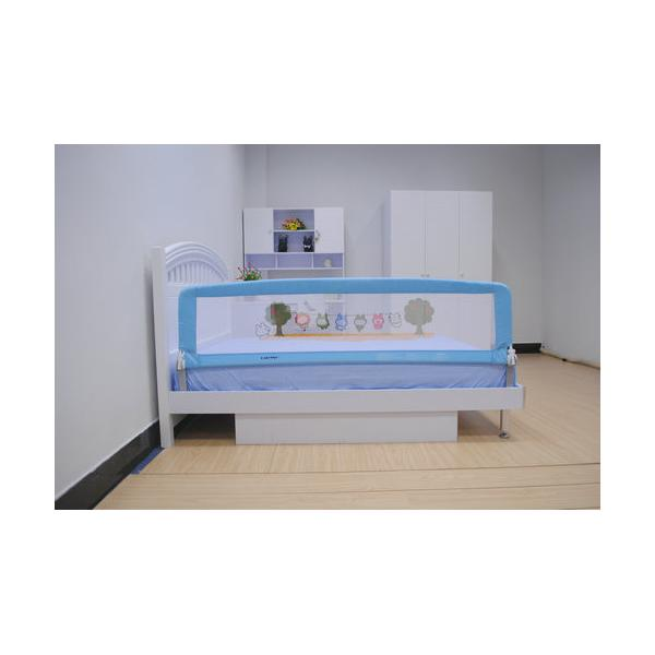 Extra Long Baby Bed Rails 180CM Blue Toddler Side