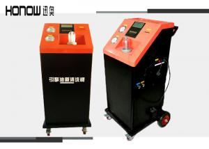 China Fully Automatic Transmission Flush EquipmentEngine Oil Pipe Cleaner 2 Oil Tanks on sale