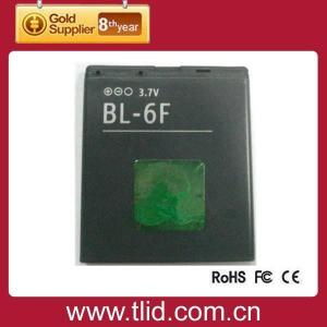 China top grade BL-6F lithium cell phone battery for Nokia on sale