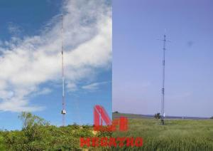 China 100M wind measuring tower on sale