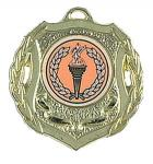 Cinta impresa aleación de la medalla del chapado en oro