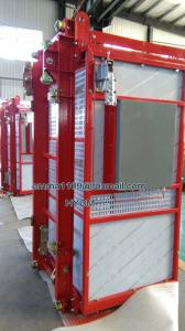 China Small 0.5tons XINGDOU Brand Construction Hoist OEM Slid Ramp or Side Doors on sale