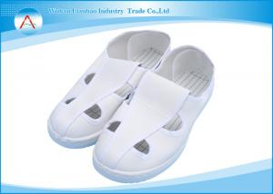 China Soft Leather Upper ESD Anti Static Safety Shoes In Electronic Industry on sale