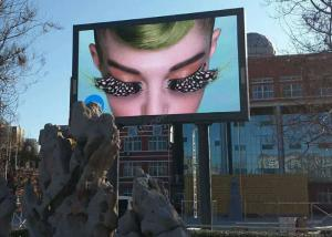 China IP65/IP54 P6 LED Screen Outdoor Advertising Fixed Panel 3G / Wifi Wireless Pole Installation on sale