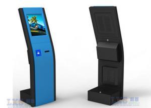 China Self Service Train Ticket Machines /Ticket Vending Machine Manufacture on sale