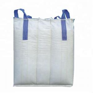 China Baffle Q Big Jumbo Bulk Bags , Moisture Proof Super Sacks Bags With Spout on sale