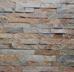 China rusty slate linears panels cultured stone stacked stone veneers ledged stone wall cladding decorations tiles on sale