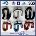 Rail clip, or called elastic rail clip used to fasten steel rail track