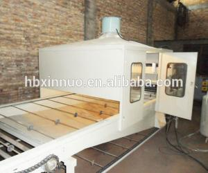 China Colored Stone Chip Coated Roof Roll Forming Machine , Roof Tile Production Line on sale