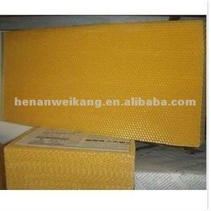 China Chinese New Beeswax Comb Foundation Sheet for Beekeeping on sale