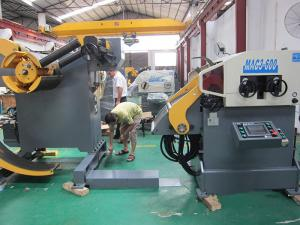 China MAC Coil Feeder Stamping Automation Equipment High Flattening Feeding Accuracy on sale