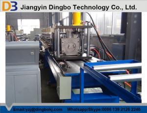 China Automatic Hydraulic Decoiler Storage Rack Upright Roll Forming Machine With Gear Box on sale